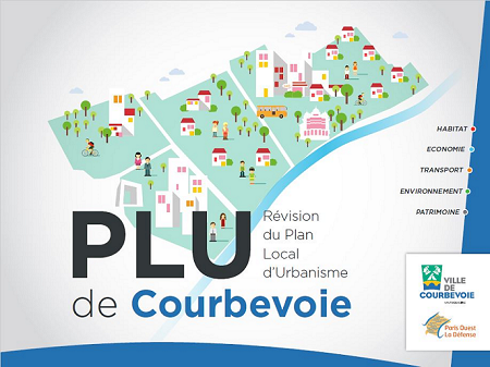 Visuel du Plan Local d'Urbanisme de Courbevoie